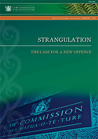 R138 Strangulation: The case for a new offence - Cover